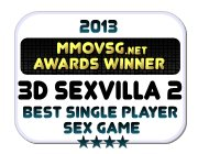 Winner 2013 Best Single Player Sex Game (3D SexVilla 2 Badge)