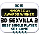 Winner 2015 Best Single Player Sex Game (3D SexVilla 2 Badge)