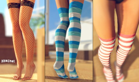 3DXChat Stockings