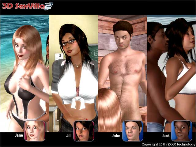 3D SexVilla 2 - Screenshot 2