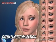 3D SexVilla 2 - Back Alley - Eyeball Customization