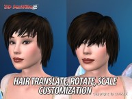3D SexVilla 2 - Back Alley - Hair Customization