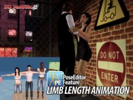 3D SexVilla 2 - Back Alley - Pose Editor Length Animation
