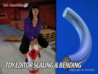 3D SexVilla 2 - Back Alley - Toy Editor Scaling & Bending