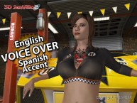 3D SexVilla 2 - Spanish accented English voice-overs