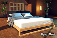 3DXChat - New comfortable king-size bed