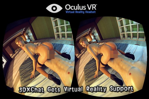 3DXChat - First sex game with Oculus Rift support!
