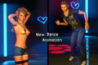 3DXChat - New Dance Animations