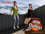 "3D SexVilla 2 - ""Winter is coming"" Content Update - New Outfits"